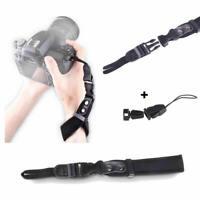 Camera Hand Wrist Grip Strap for SLR DSLR Sony Canon Nikon Pentax Samsung Black