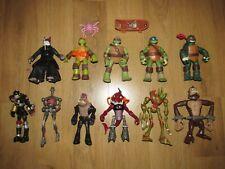 RARE Teenage Mutant Ninja Turtles / TMNT & Villain's Figure's Job Lot / Bundle