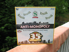 Anti-Monopoly 35th Anniversary Edition Board Game University Games New & Sealed!