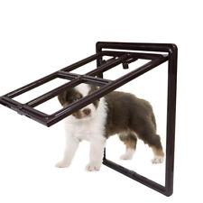 Pet Dog Door for Screen Cat Sliding Screen Door, Automatic 2 Sizes Options