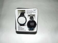 NEW Womens Armitron Pro Fit Rechargeable Watch Stainless Steel $120 Calorie iOS