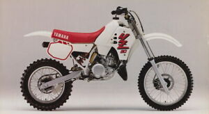 1989 YAMAHA YZ80 REAR Stainless Braided Brake LINE MX  YZ 80 1988 1990 race