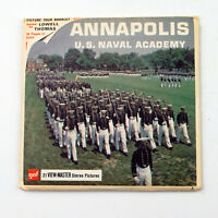 Vintage View-Master Reels Packet Set A783 U.S. NAVAL ACADEMY Annapolis MD