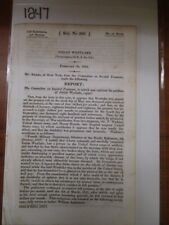 Government Report 1817 Josiah Westlake Pension for Disability #1247