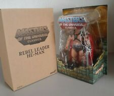 Super7 Masters of the Universe Classics Rebel Leader He-Man William Stout New #