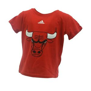 Chicago Bulls Official NBA Adidas Apparel Infant Toddler Size T-Shirt New Tags