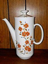 New listing Vintage Teapot Winter Dogwood Saltera Floral 1976 Himark Japan Original Design