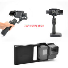 Adapter Switch Mount Plate For Gopro 5 4 3/ DJI Osmo Mobile Gimbal/ Smooth C/Q/2