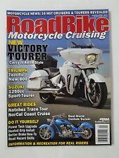 Road Bike Magazine March/April 2012  Triumph 800  10 Hot Cruisers  Custom Suzuki