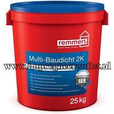 Remmers Multi-Baudicht 2K 25 kg Gegen von außen drückendes Wasser im Kiesol-Syst