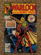 WARLOCK and the INFINITY WATCH #1 High Grade MARVEL Adam HIM HOT KEY CGC WORTHY