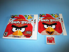 Angry Birds Trilogy (Nintendo 3DS) XL 2DS Game w/Case & Manual