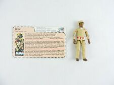 DOC Medic figure G.I. JOE 1983 Hasbro Mail-Away with Filecard vintage GI UNCUT