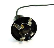 "Interior Door Instrument Panel Dash Courtesy Light Bulb Socket Pigtail Plug 5/8"""