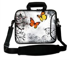 "LUXBURG 12"" Inches Design Laptop Sleeve With Shoulder Strap & handle #CP"