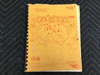 Bally Pac-Man Pinball Machine Manual FREE SHIP