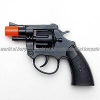 Super Cap Toy Gun DETECTIVE SPECIAL Revolver 8 Shot Ring Caps Pistol Handgun T04