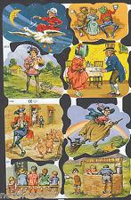 NURSERY RHYME MOTHER GOOSE JACK JILL ENGLAND CHILDREN STORIES SCRAP PAPER