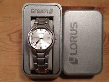 New - Reloj Watch Montre LORUS Ref. RXH45AX-9 - Quartz - Steel Acero - Nuevo