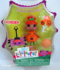 2013  HALLOWEEN LaLaLOOPSY *PUMPKIN Candle Light* Mini Collectible Doll FREE SHP