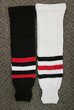Chicago Pro Weight Hockey Socks - Adult, Intermediate, Youth or Mite Size