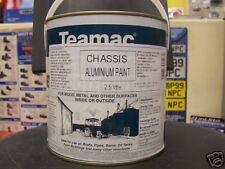 TEAMAC CHASSIS BODY PAINT ALUMINIUM SILVER 1 x 5LTR