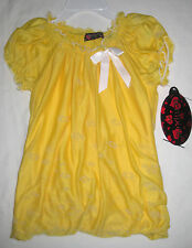 NWT Tempted Girls Yellow & White Summer Top Size 24 Months