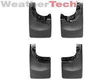 WeatherTech No-Drill MudFlaps for Toyota Tacoma 4x4- 2005-2015 -Front & Rear Set