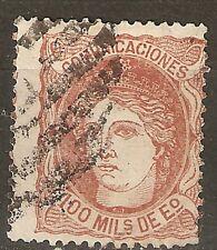 1870 EDIFIL 109º USADO