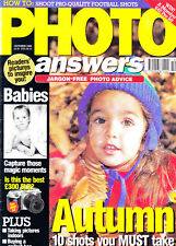 Photo Answers magazine   with Nikon F60 reviewed     October 1998