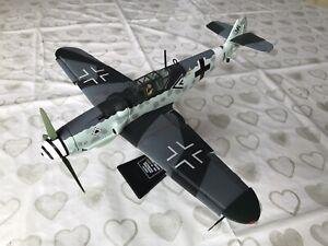 CORGI 1/32 MESSERSCHMITT Bf 109 'BLACK DOUBLE CHEVRON' AA34901 !NO CERT BOX ETC!