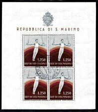 SAN MARINO 1955 526KB gestempelt KLEINBOGEN SPORT (S8064