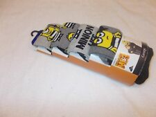 Socks 4 x Despicable Me 3 Movie Minions Minion Pattern Socks UK Size 9-12