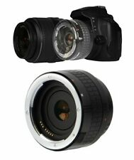 2X HD OPTICAL CONVERTER FOR CANON EFS 55-250MM MAKES IN TO 110-500MM LENS