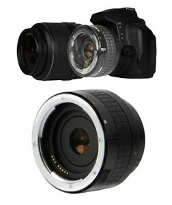 2X  OPTICAL CONVERTER FOR Tamron 18-400mm f/3.5-6.3 Di II VC HLD Lens FOR CANON