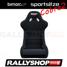BIMARCO Cobra 2 Sportsitz  Schwarz Sport Rally Sitze Glasfaser