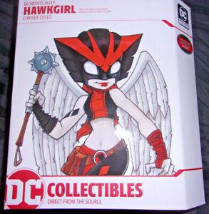 DC Artist Alley Chrissie Zullo Hawkgirl Harley Quinn Team Variant NEW!