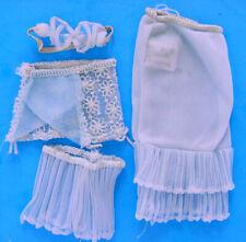 1959 Original Barbie Blue Undergarments #919 Bra Panties Girdle & Slip