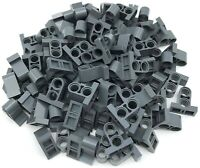 Lego 100 New Dark Bluish Gray Technic Pin Connector Plates with 2 Holes