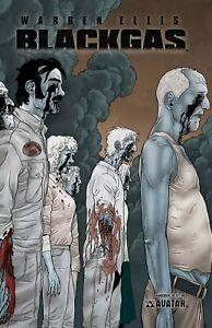 Black Gas Limited Hardcover GN Warren Ellis Fiumara Zombie Walking Dead New NM