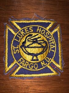 Saint Luke's Hospital Fargo North Dakota Fire Department Patch