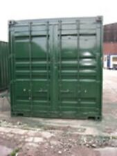 20ft x 8ft Container - secure - waterproof - best value - painted green
