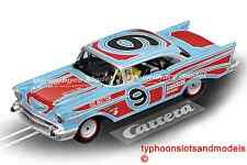 CA27526 CARRERA EVOLUTION CHEVROLET BEL AIR 57-ovale Racer-New & Boxed