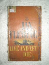 JAMES BOND IAN FLEMING LIVE AND LET DIE RARE BOOK 1954