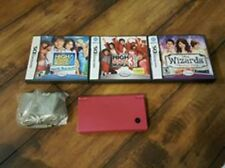 Nintendo DSi Console -- Pink -- Handheld System Console & 3 Games