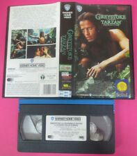 VHS film GREYSTOKE LA LEGGENDA DI TARZAN 1989 WARNER GLI SCUDI (F174) no dvd