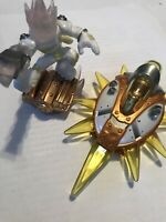 Skylanders Superchargers Astroblast Figure + Sun Runner Vehicle Light Element