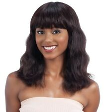 NAKED UNPROCESSED BRAZILIAN REMY 100% HUMAN HAIR WIG - S-WAVE (S)