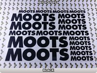 MOOTS Stickers Decals Bicycles Bikes Cycles Frames Forks Mountain MTB BMX 62M