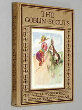 The GOBLIN SCOUTS - Harry Golding (c.1900) colour Illustrated by Thomas Maybank